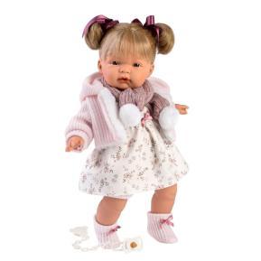 Κούκλα Llorens Joelle Soft Body Crying Toddler 38cm