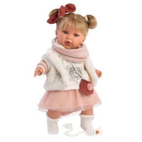 Κούκλα Llorens Julia Soft Body Crying Toddler 42cm