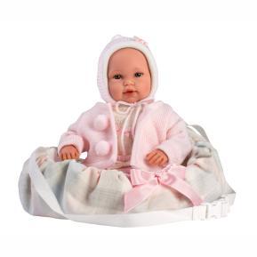 Μωρό Llorens Crying Newborn Doll Jasmin 36cm