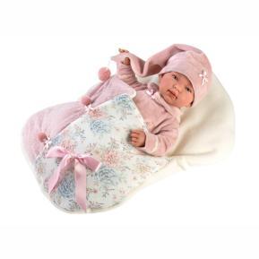 Κούκλα  Llorens Doll Tina Soft Body Crying Baby 44cm