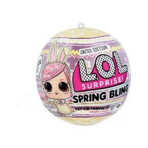 LOL Surprise  Κούκλα Ζωάκι Spring Bling Ροζ Κουνελάκι