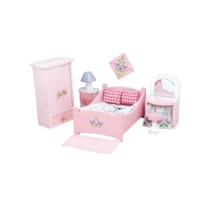 Le Toy Van Ξύλινο Υπνοδωμάτιο Κρεβατοκάμαρα ME050