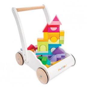 Le Toy Van Ξύλινη Περπατούρα Με Τουβλάκια 45τεμ PL102
