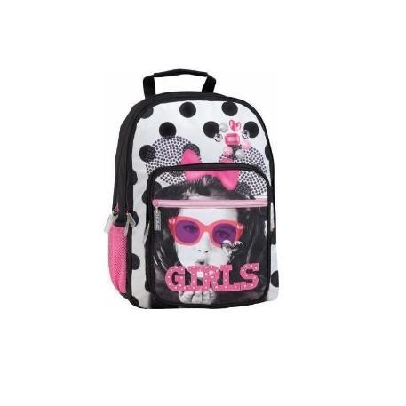 Τσάντα Δημοτικού Lycsac Snow White 52135-0