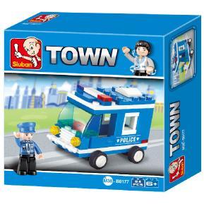 Sluban Police Van