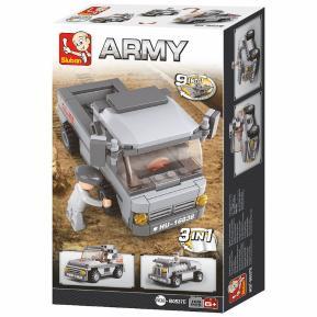Sluban Troop Transporter 3-In-1