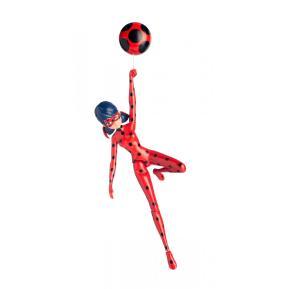 Miraculous Delux Φιγούρα Jump & Fly Ladybug (MRA07000)