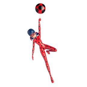 Miraculous Deluxe Φιγούρα με λειτουργίες Jump & Fly Ladybag (MRA09000)