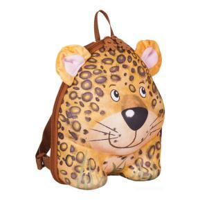 Okiedog Wildpack Τσάντα Νηπίου Πλάτης Leopard Yellow (80041)