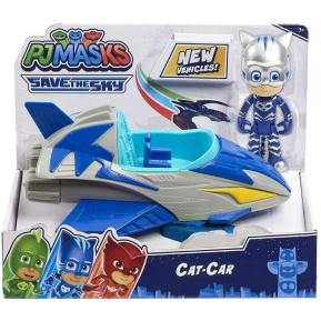 Giochi Preziosi PJ Masks Save the Sky Όχημα με Φιγούρα Cat Mobile (PJMC1000)
