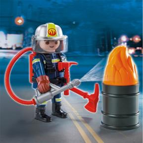 Playmobil Play & Give Πυροσβέστης