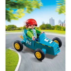 Playmobil Αγοράκι με Go-Kart