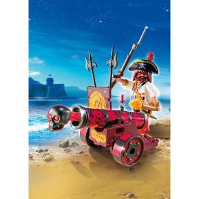 Playmobil Κόκκινο Κανόνι με Κουρσάρο