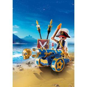 Playmobil Μπλε Κανόνι με Πειρατή