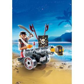 Playmobil Μαύρο Κανόνι με Πυροβολητή