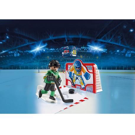 Playmobil Σετ εξάσκησης Ice Hockey-0