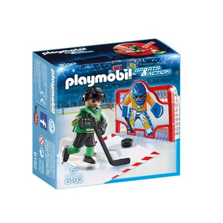 Playmobil Σετ εξάσκησης Ice Hockey-3