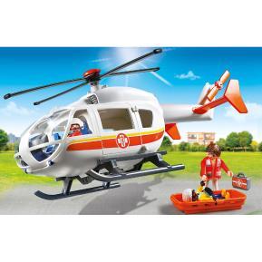 Playmobil Ελικόπτερο Πρώτων Βοηθειών