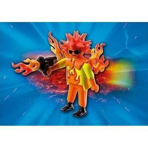 Playmobil Πολεμιστής Φωτιάς
