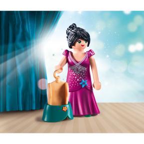 Playmobil Fashion Girl με τουαλέτα δεξίωσης