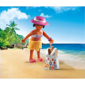 Playmobil Fashion Girl με Ρούχα Παραλίας