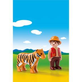 Playmobil Θηροφύλακας με Τίγρη