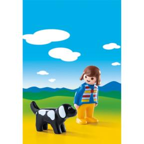 Playmobil Κορίτσι με Σκυλάκι