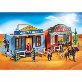 Playmobil Βαλιτσάκι Άγρια Δύση