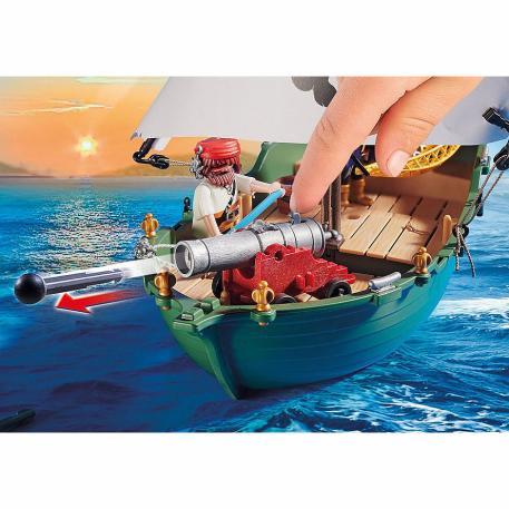 Playmobil Πειρατικό Πλοιάριο με Υποβρύχιο Μοτέρ (70151)-2