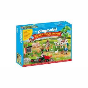 Playmobil Χριστουγεννιάτικο Ημερολόγιο - Φάρμα Ζώων 70189