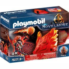 Playmobil Φύλακας του Μπέρναμ με Πύρινο Στοιχειό