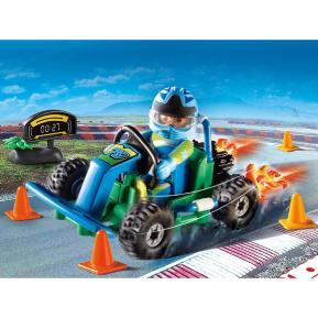 "Playmobil Gift Set ""Οδηγός με Go-Kart"""