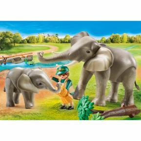 Playmobil Οικογένεια ελεφάντων 70324