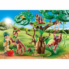 Playmobil Φροντιστής ζώων με ουρακοτάγκους 70345