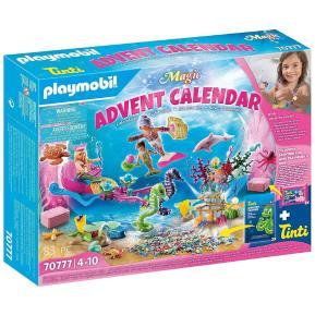 Playmobil Χριστουγεννιάτικο Ημερολόγιο - Παιχνίδι στην μπανιέρα με γοργόνες 70777