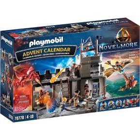 Playmobil Χριστουγεννιάτικο Ημερολόγιο Novelmore - Εργαστήρι του Dario Da Vanci 70778