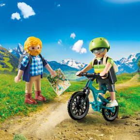 Playmobil Ποδηλάτης και ορειβάτης
