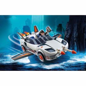 Playmobil Κατασκοπευτικό όχημα του Πράκτορα Π