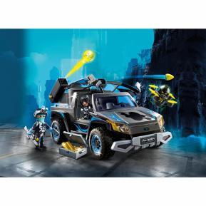 Playmobil Όχημα Pickup του Dr. Drone