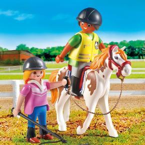 Playmobil Προπονήτρια και αθλήτρια ιππασίας