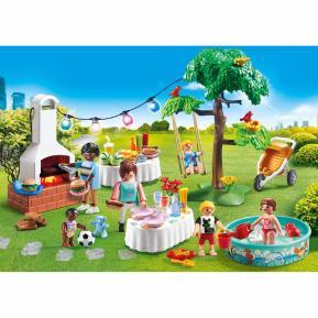 Playmobil Πάρτυ στον κήπο με barbecue