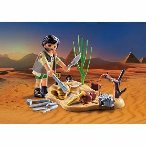 Playmobil Αρχαιολόγος με Εργαλεία Ανασκαφής