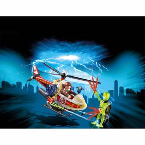 Playmobil Δρ. Βένκμαν με ελικόπτερο