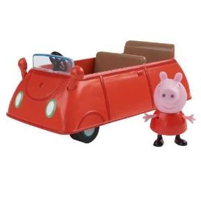 Pepa Pig Οχηματάκι Κόκκινο (PPC15102)