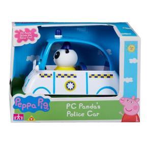 Peppa Pig οχηματάκια Περιπολικό Όχημα με φιγούρα (PPC15702)