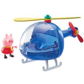 Giochi Preziosi Peppa Pig Οχηματάκι με φιγούρα το Ελικόπτερο  (PPC15902)