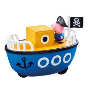 Giochi Preziosi Peppa Pig Οχηματάκι με φιγούρα το Καράβι