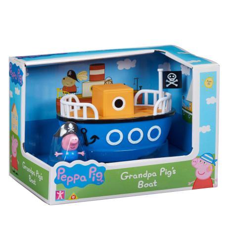 Peppa Pig οχηματάκι με φιγούρα το Καράβι (PPC15902)-1