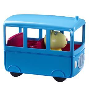 Giochi Preziosi Peppa Pig Οχηματάκι με φιγούρα το Λεωφορείο