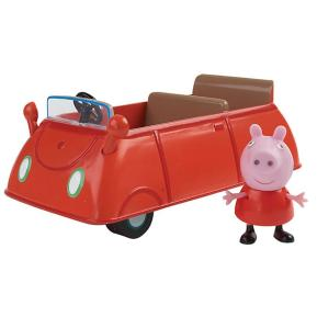 Giochi Preziosi Peppa Pig Κόκκινο Οχηματάκι με φιγούρα Peppa  (PPC15902)